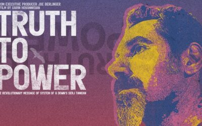 Lanzan tráiler de 'Truth to Power', documental de Serj Tankian de System Of a Down